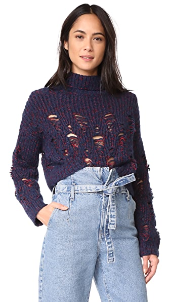 Rachel Comey Tigris Sweater - Navy