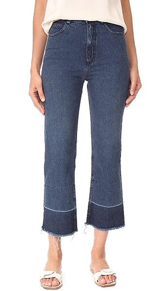 Rachel Comey Slim Legion Jeans - Dark Indigo
