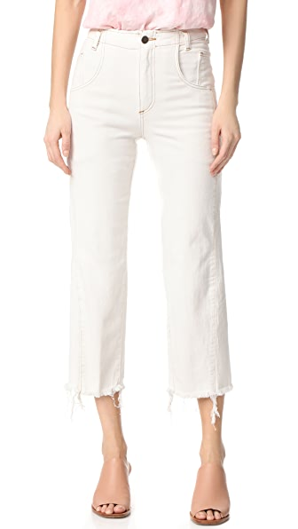 Rachel Comey Trigger Jeans - Dirty White
