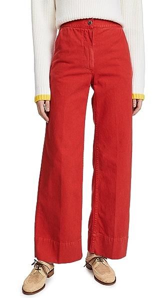 Rachel Comey Clean Bishop Pants In Coral
