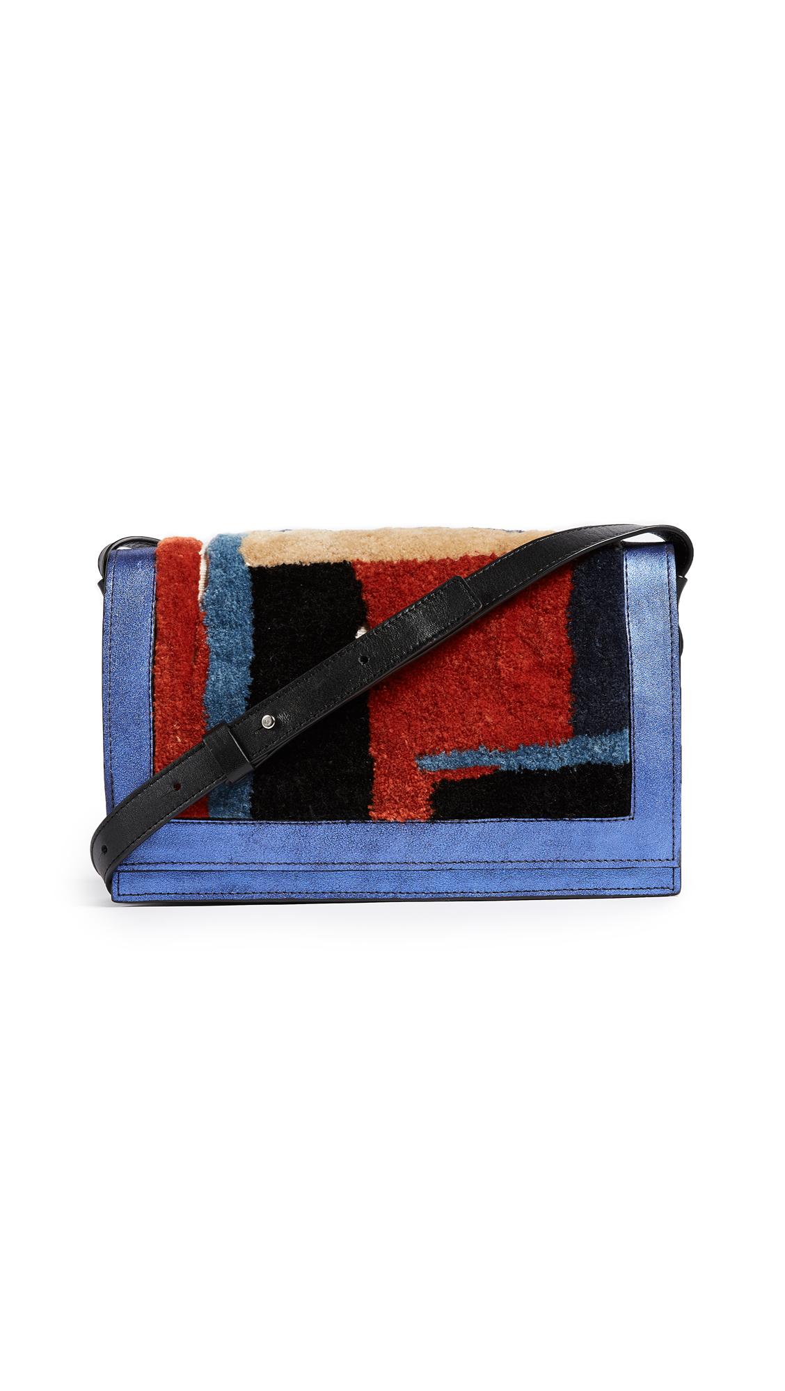 Rachel Comey Pala Shoulder Bag - Dark Blue