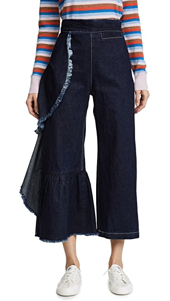 Rachel Comey Revel Pants In Dark Indigo