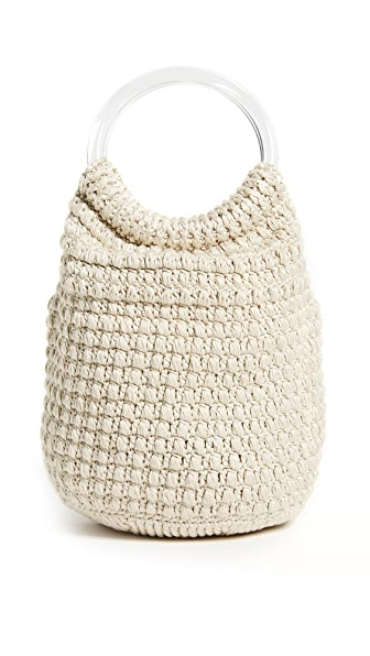 Rachel Comey Praia Knit Bucket In Ivory