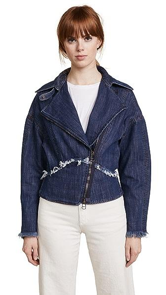 Rachel Comey Denim Ransom Jacket In Indigo