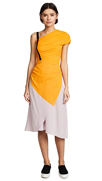 Rachel Comey Amphion Dress In Tangerine