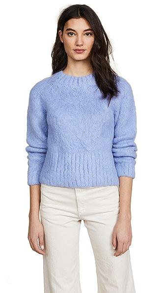 Rachel Comey Recline Pullover In Silver Blue