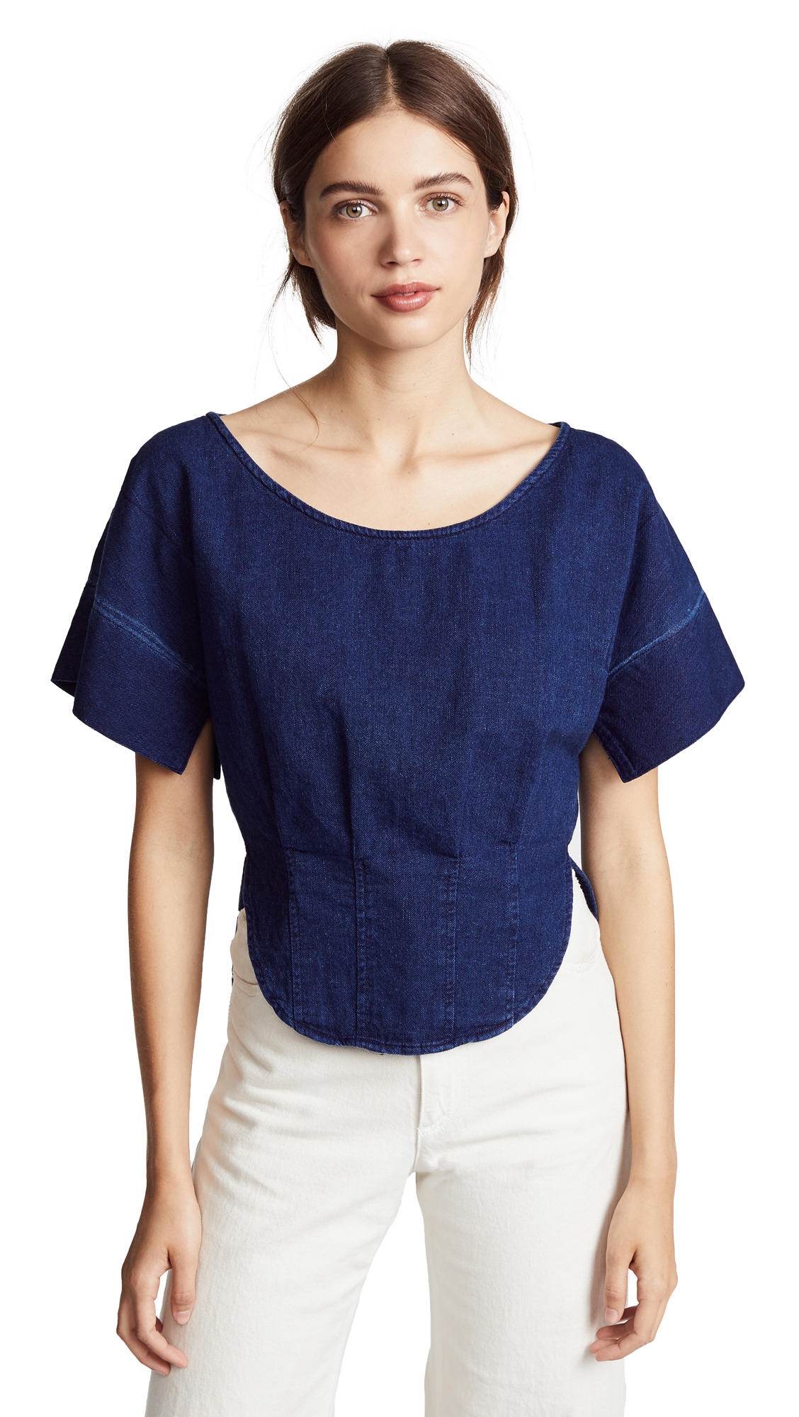 Rachel Comey Switch Top In Dark Indigo