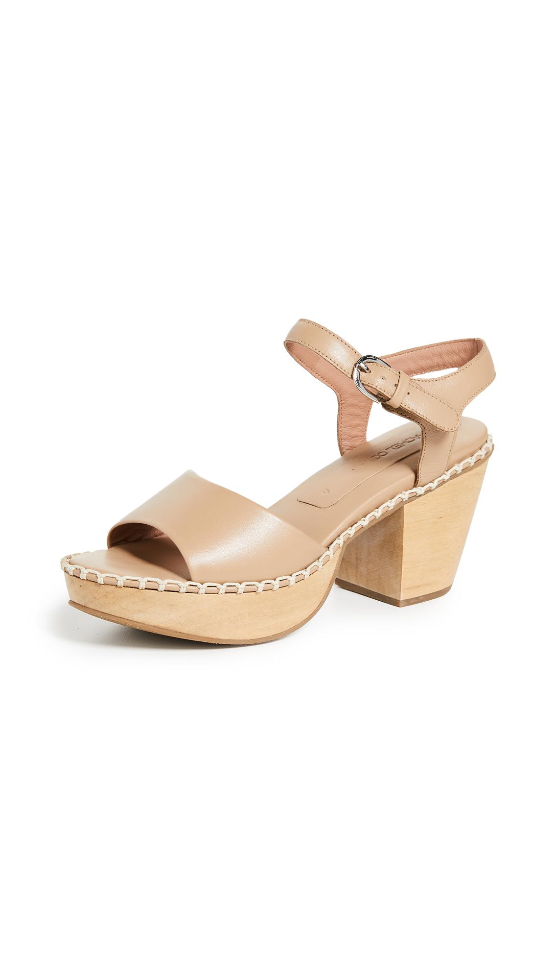 Rachel Comey Avid Clog Sandals In Stone