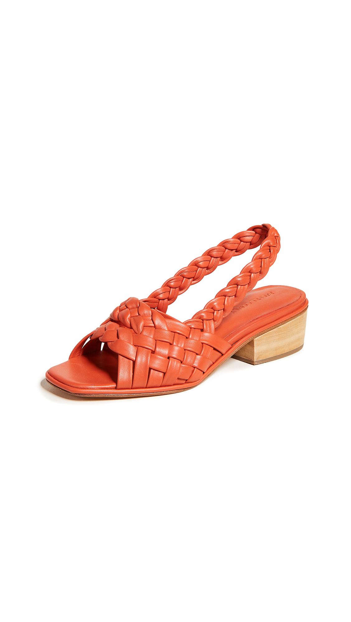 Rachel Comey Blanca Slingback Sandals - Poppy