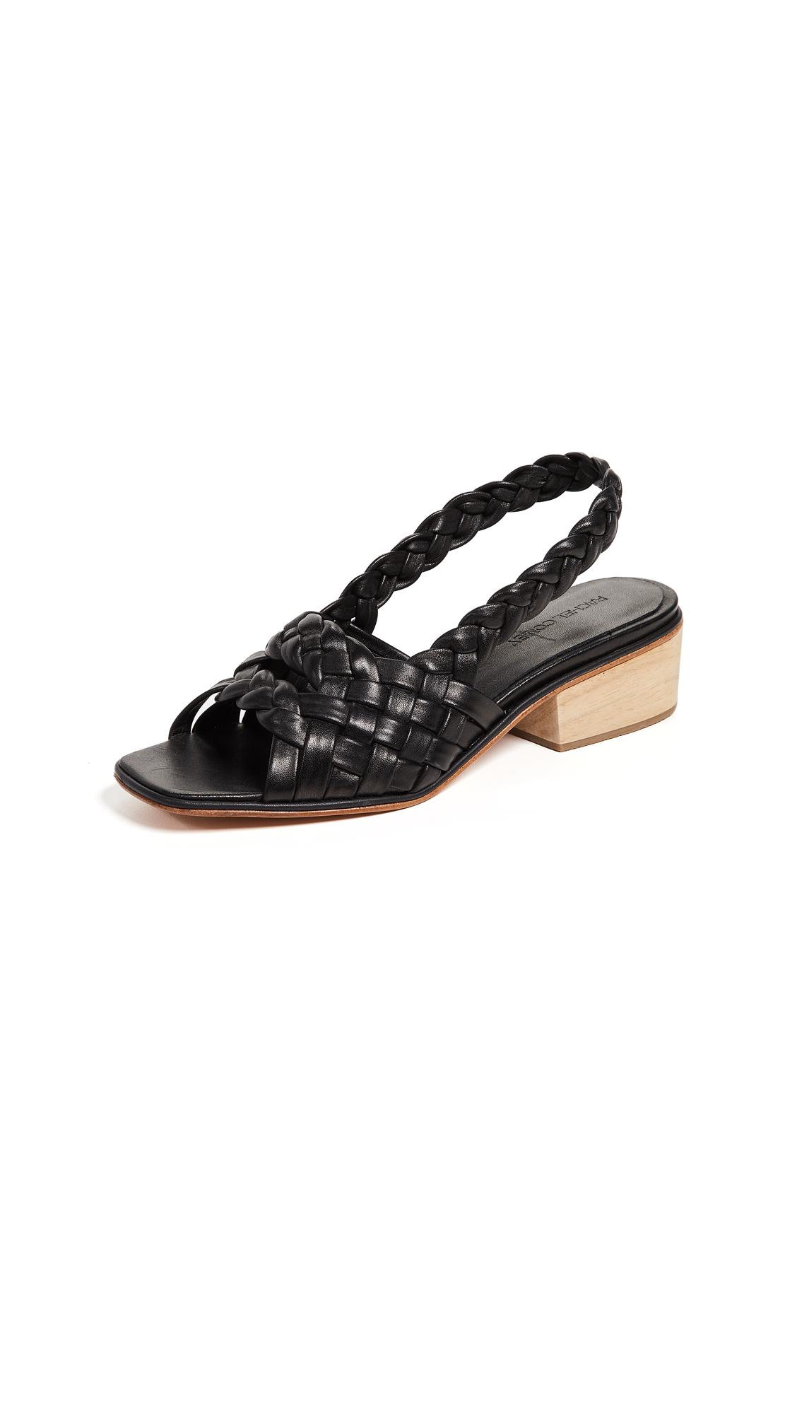 Rachel Comey Blanca Slingback Sandals - Black