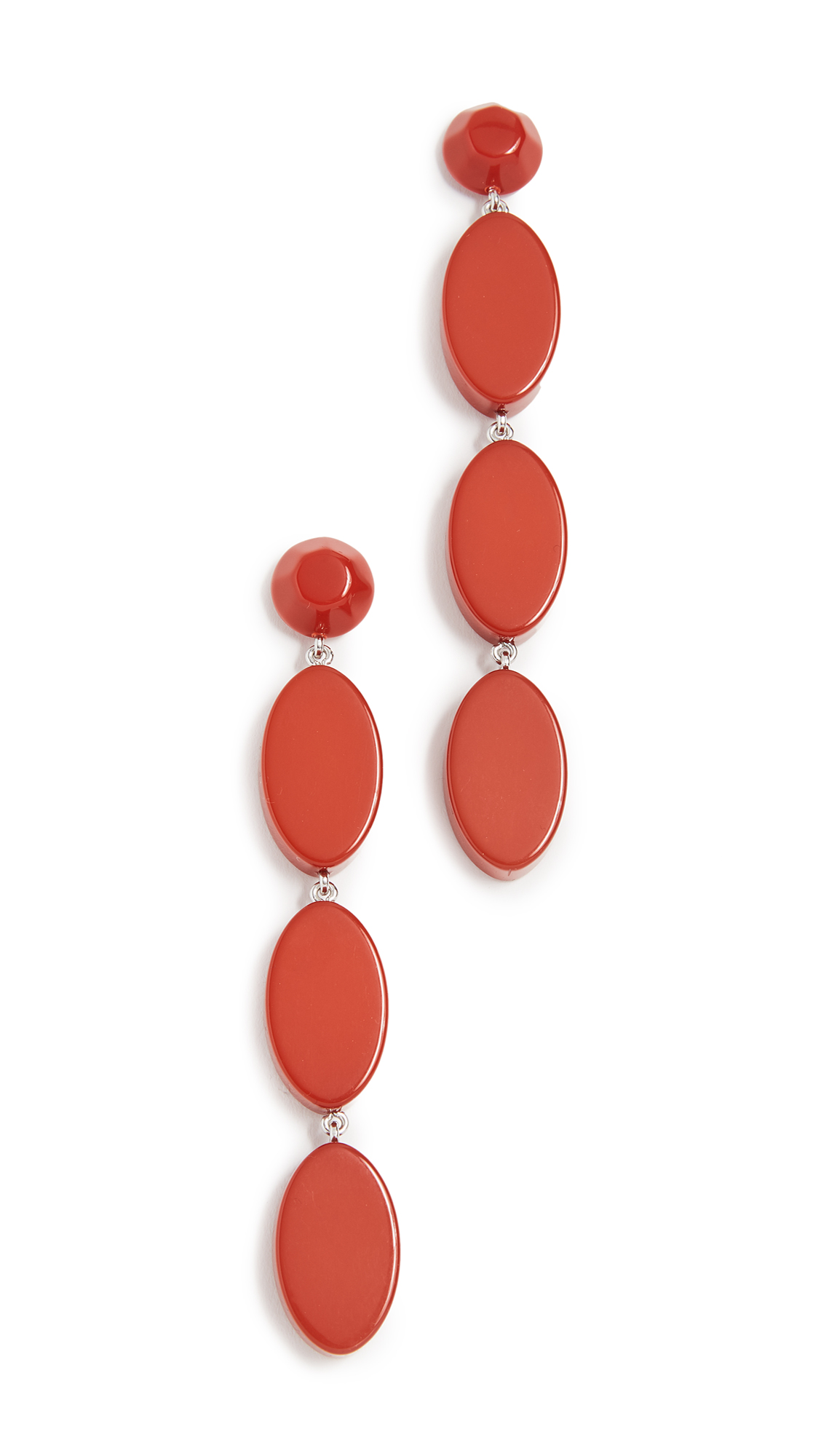 Rachel Comey Bond Earrings - Red