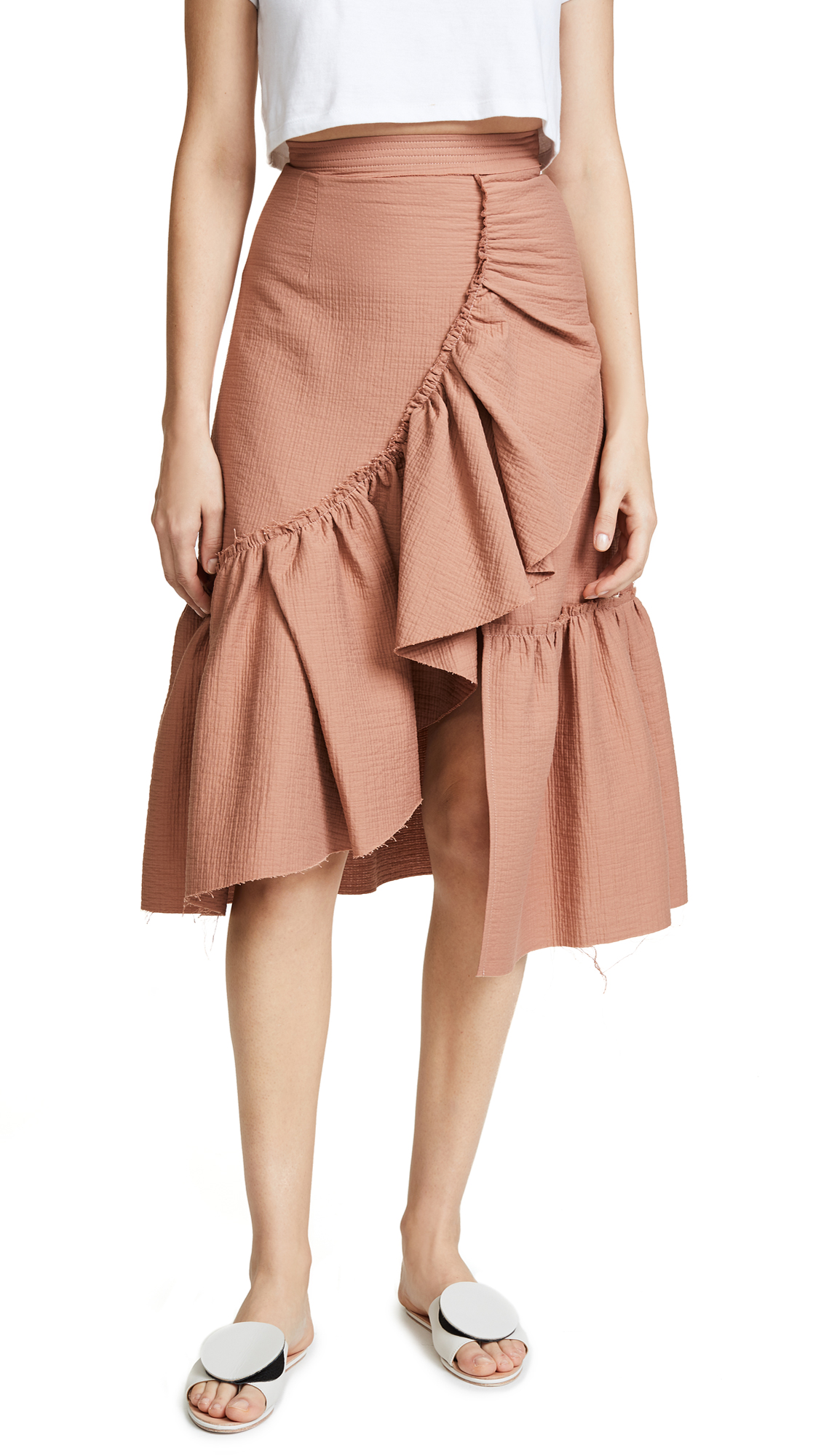 Rachel Comey Bonnie Skirt In Blush