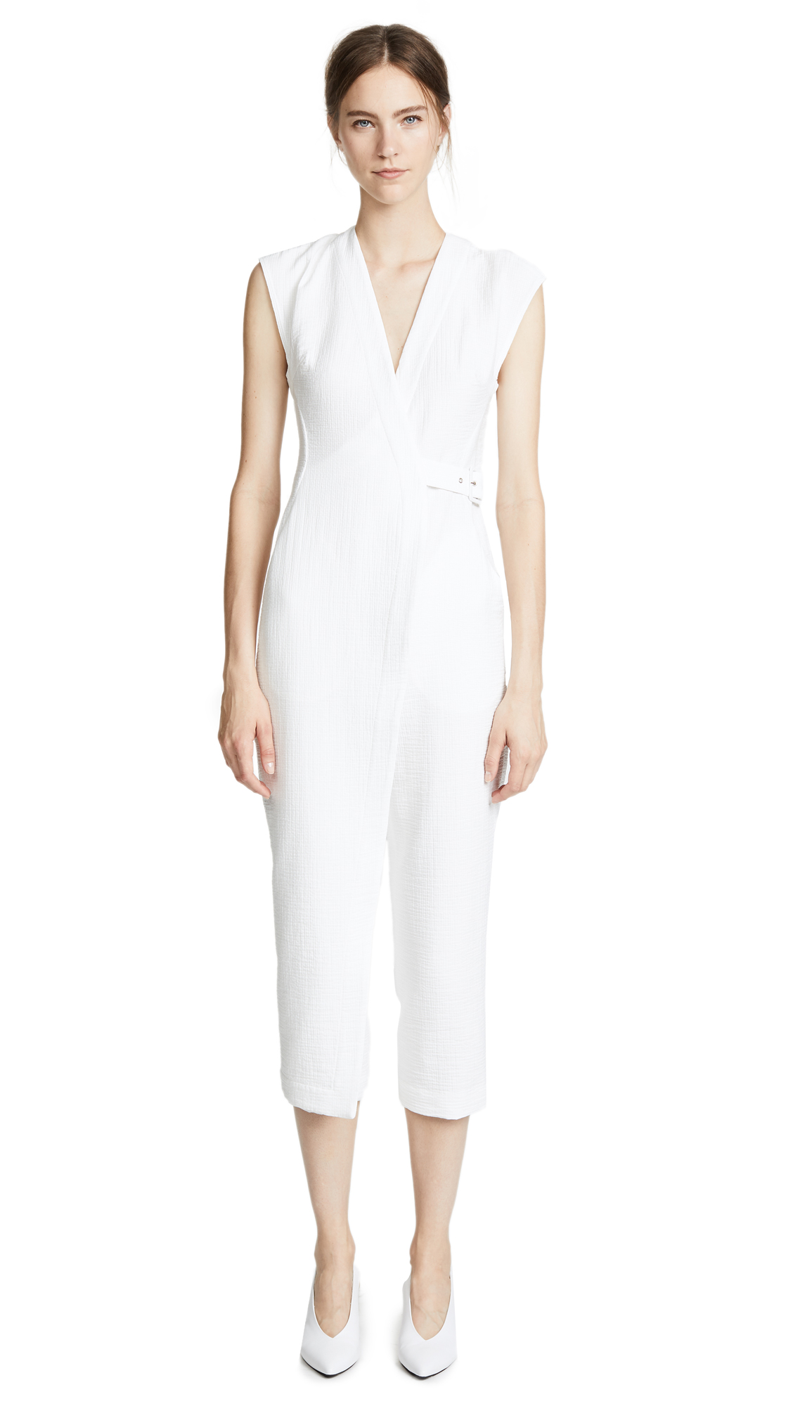 Rachel Comey Steadfast Jumpsuit In White