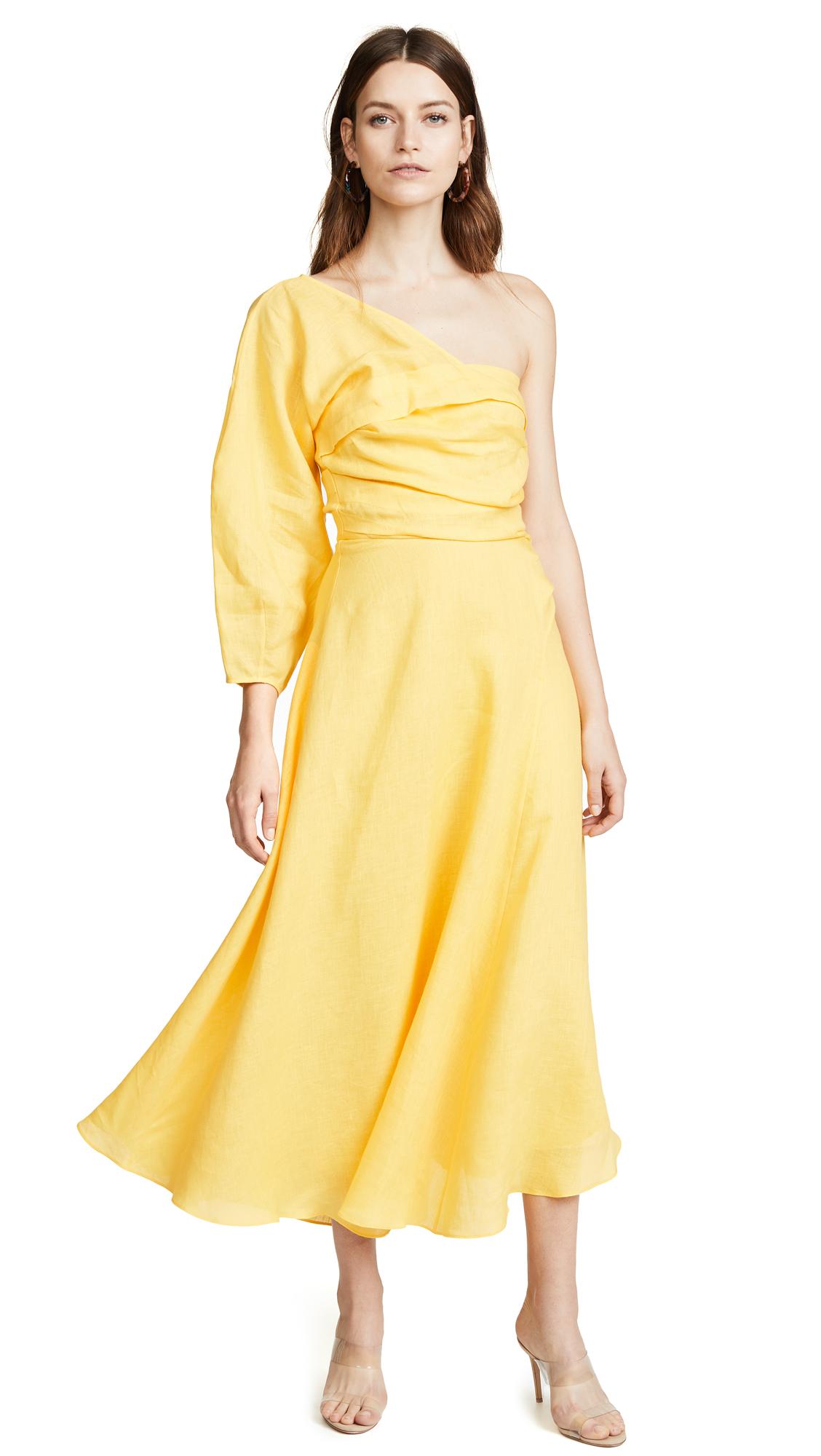 Rachel Comey Tipple Dress In Yellow