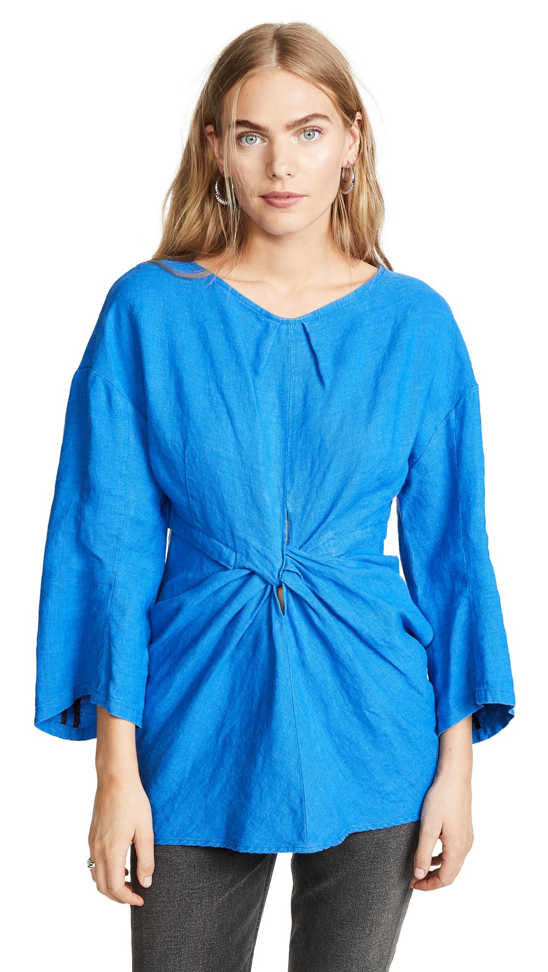 Rachel Comey Scope Top In Blue