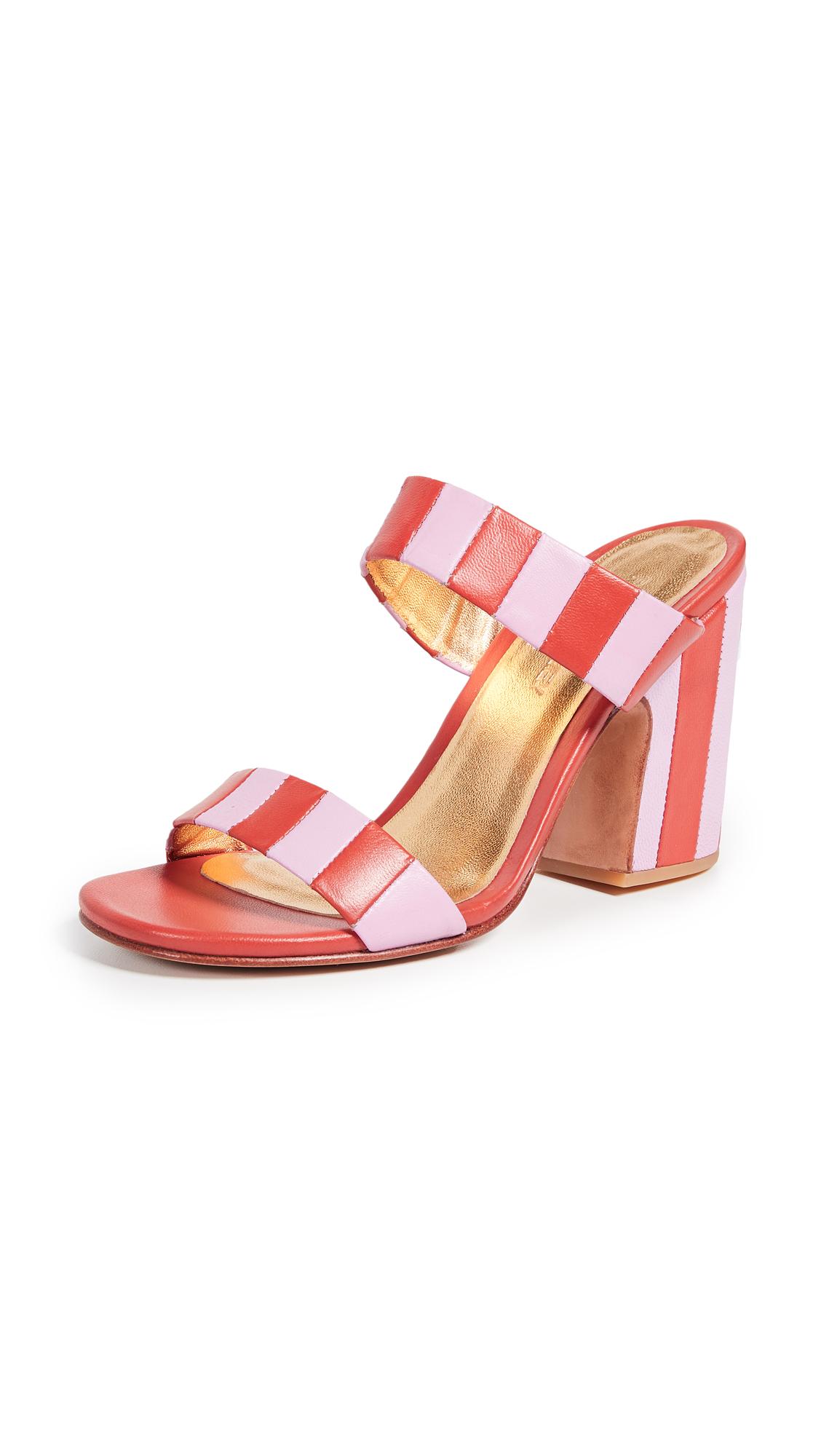 Rachel Comey Spritz Slides - Pink/Poppy