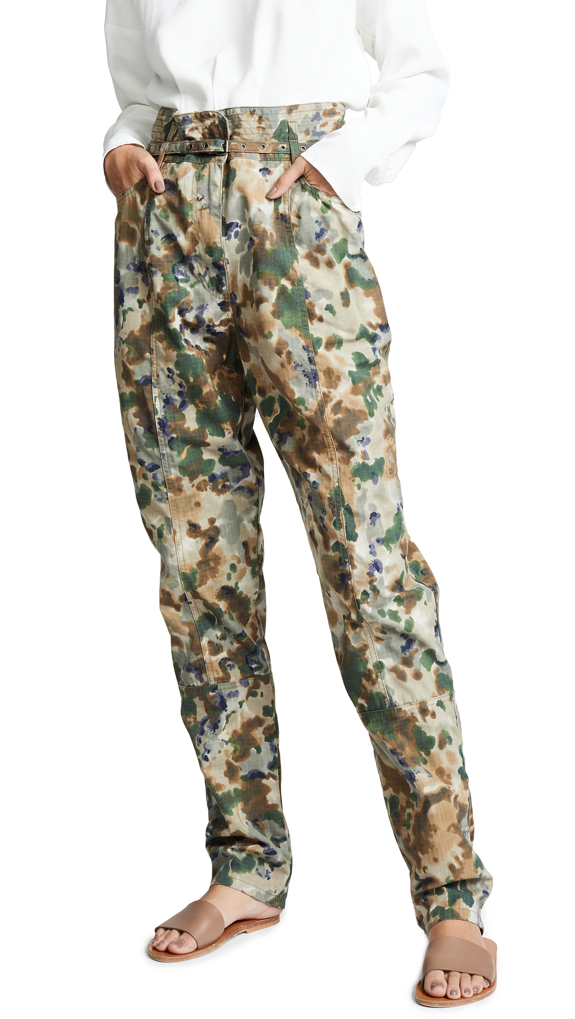 Rachel Comey Lure Pants In Camo