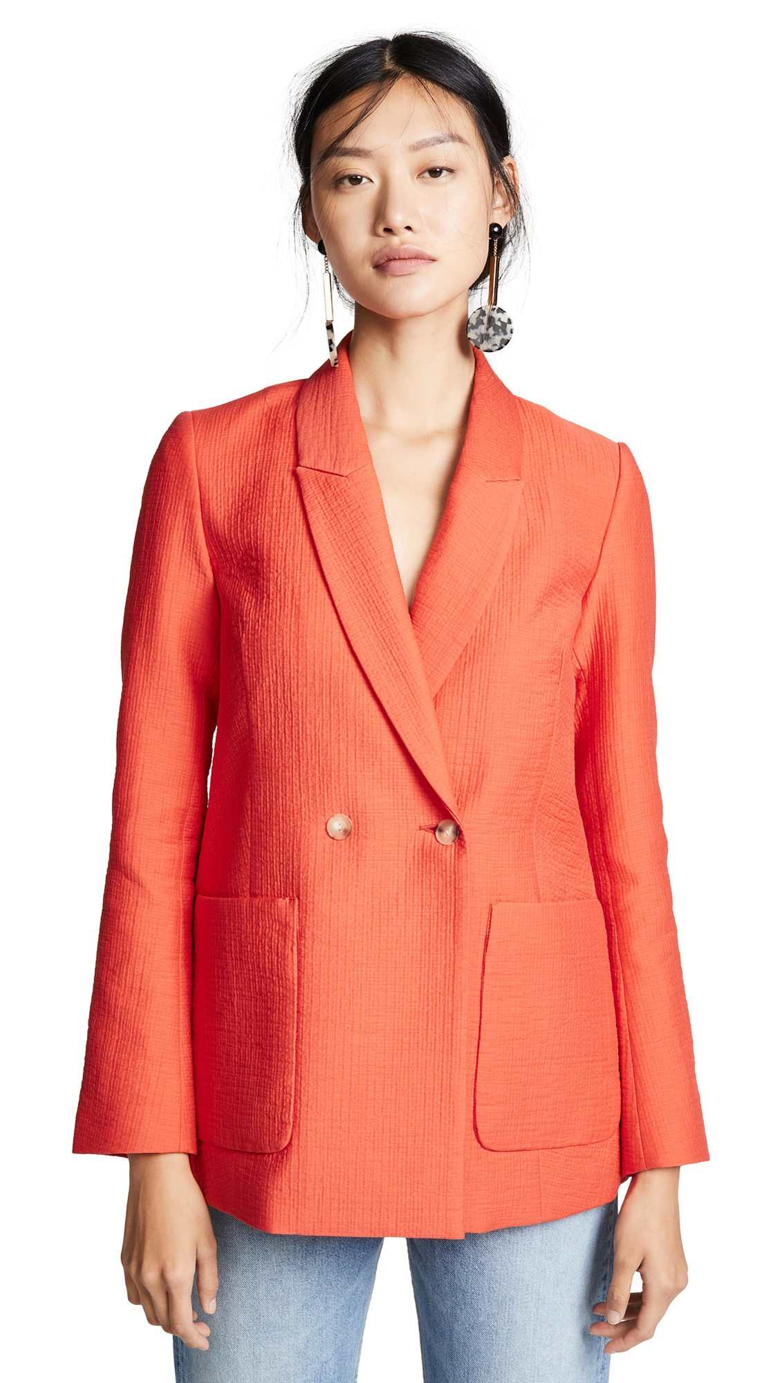 Rachel Comey Amboy Blazer In Red