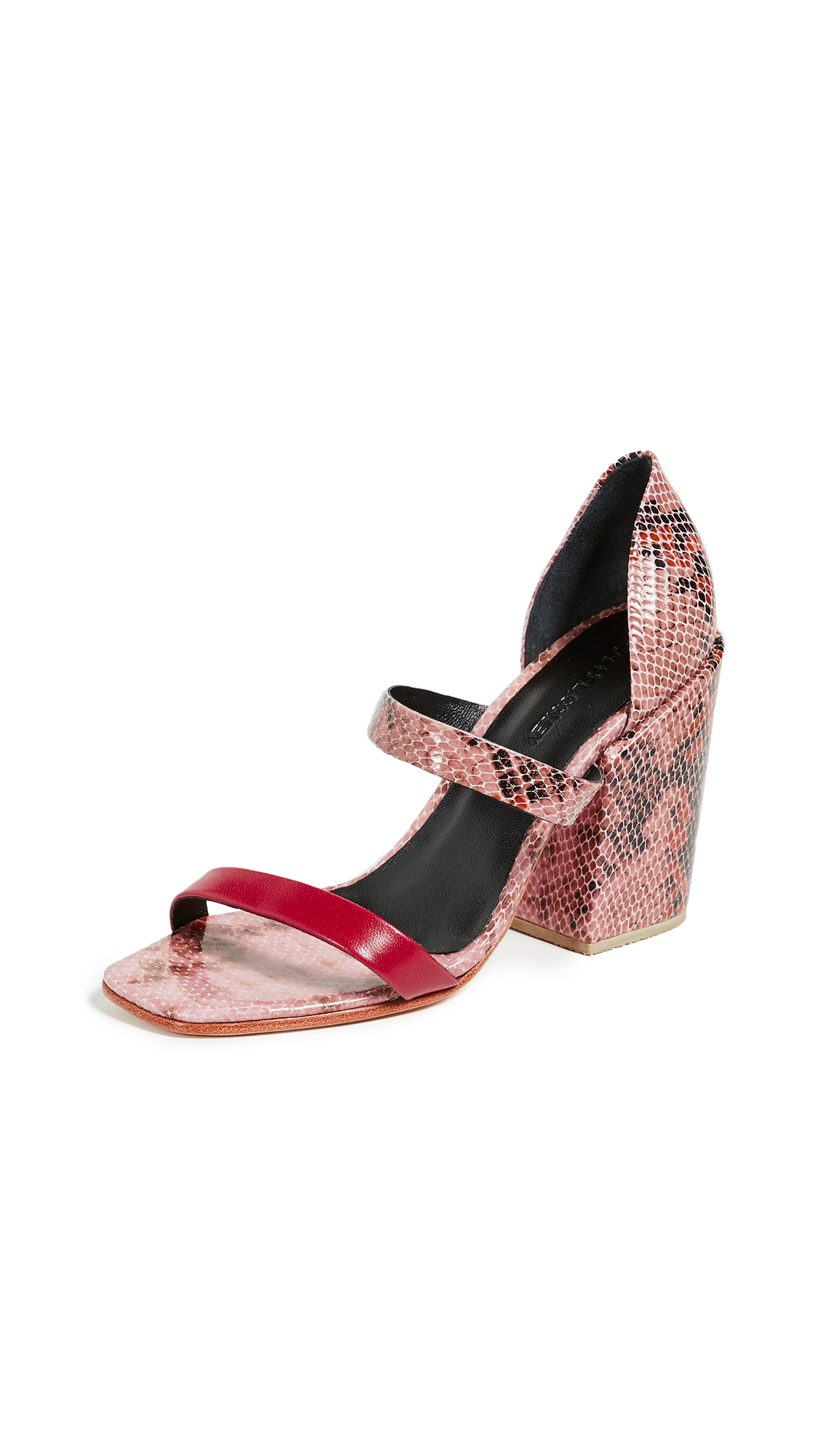 Rachel Comey Lico Sandals - Pink Snake