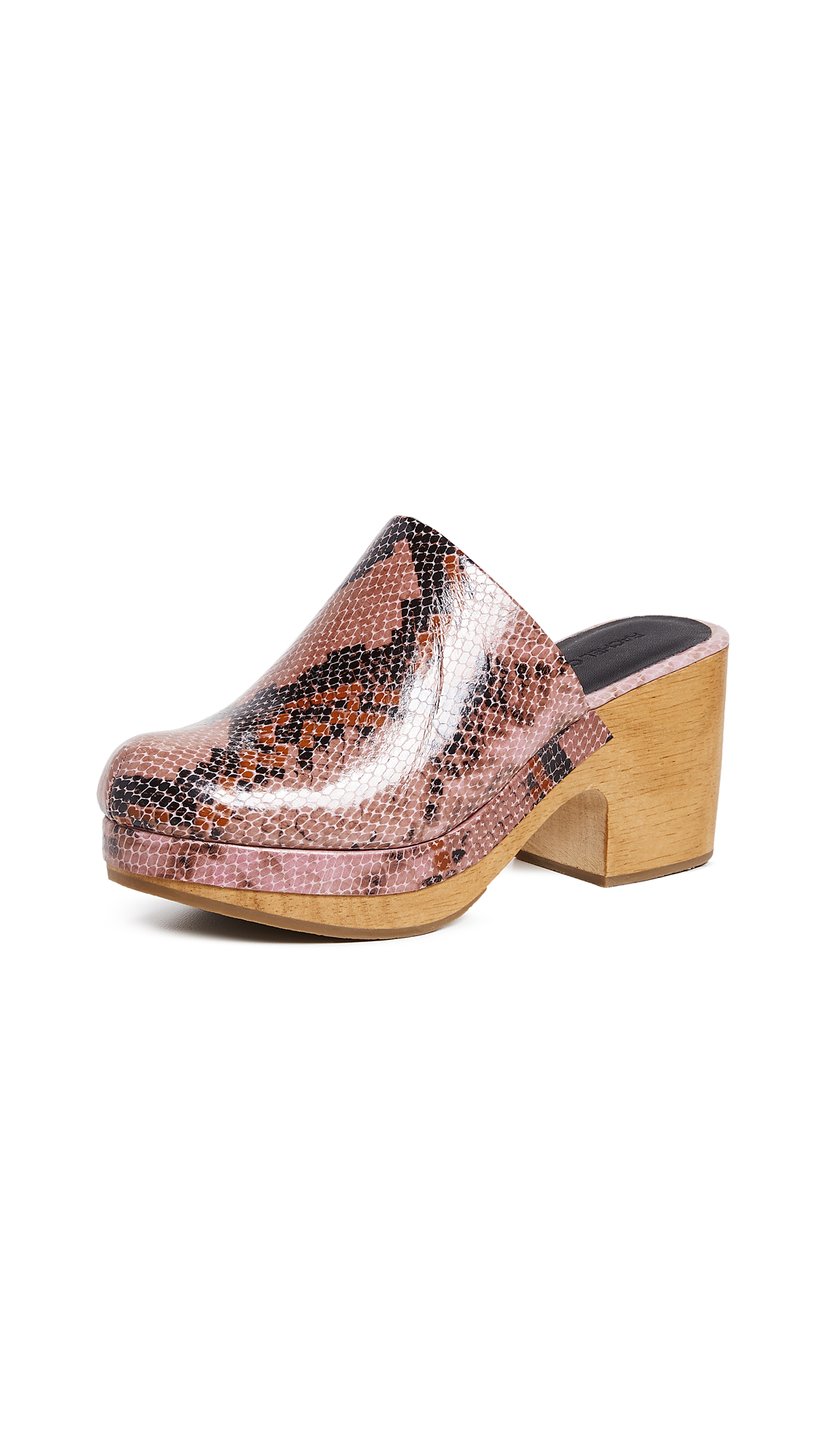 Rachel Comey Bose Low Clogs - Pink Snake