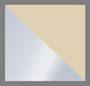 ванильный/серебряные заклепки