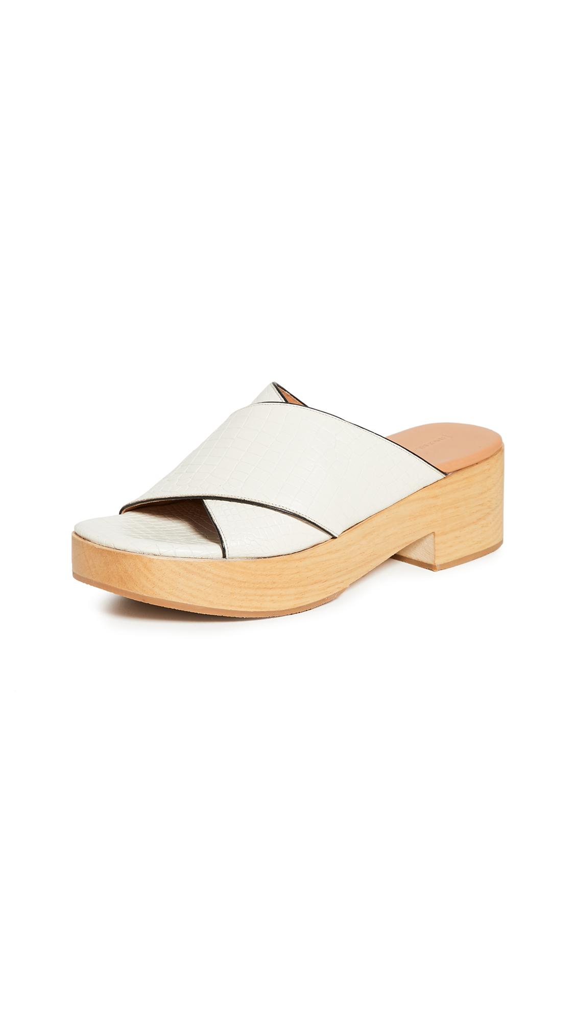Rachel Comey Serge Clog Sandals - 30% Off Sale
