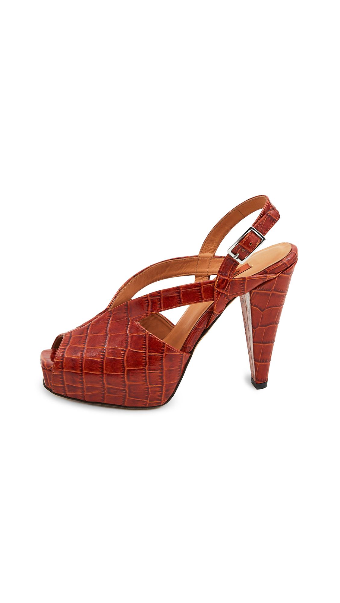 Buy Rachel Comey Besco Heel Sandals online, shop Rachel Comey