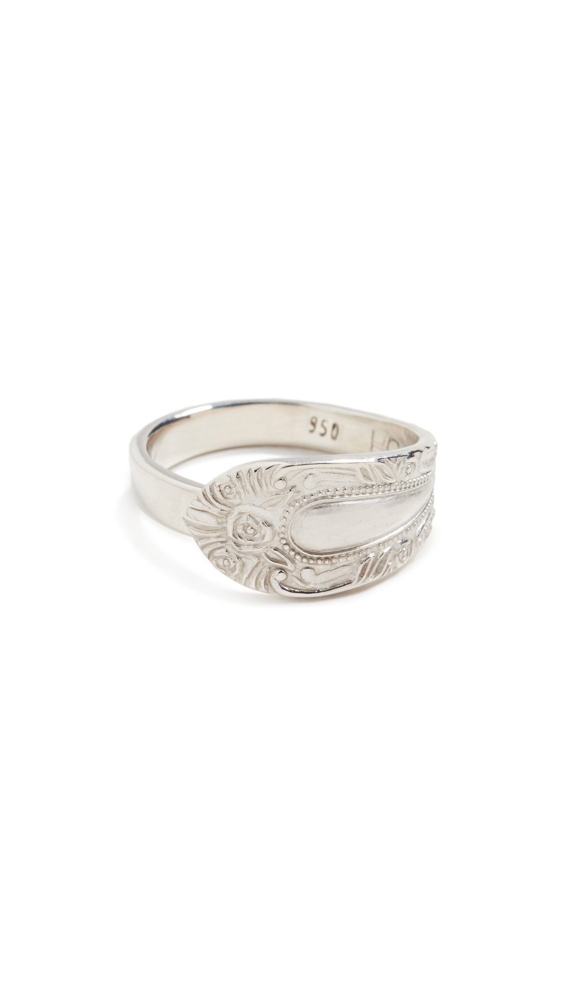 Rachel Comey Mower Ring In Silver