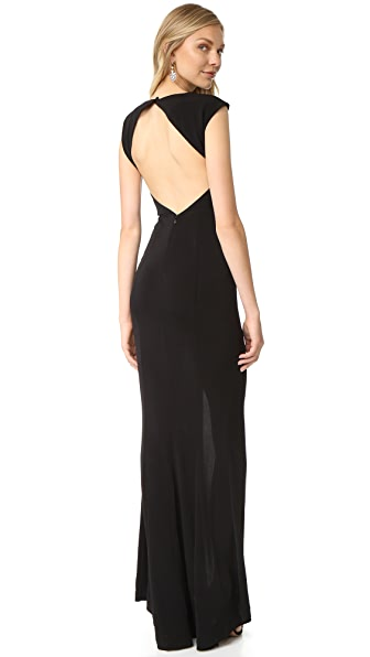 Rachel Zoe Adriana II Mermaid Maxi Dress - Black