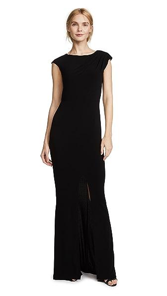 Rachel Zoe Adriana II Mermaid Maxi Dress - Black