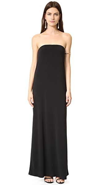 Rachel Zoe Adette Cowl Back Dress - Black