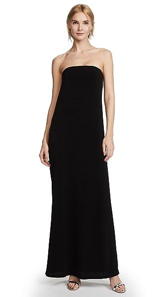 Rachel Zoe Adette Cowl Back Dress - Black