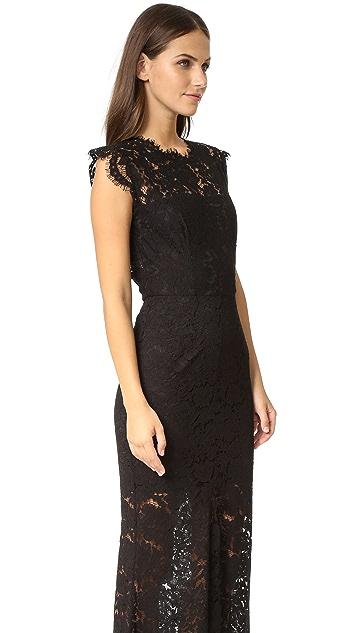 Rachel Zoe Estelle Cutout Maxi Dress