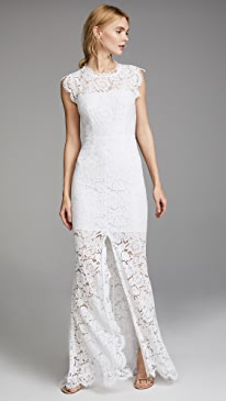 Shop designer couture bridal wedding dresses online rachel zoe estelle cutout maxi dress junglespirit Image collections