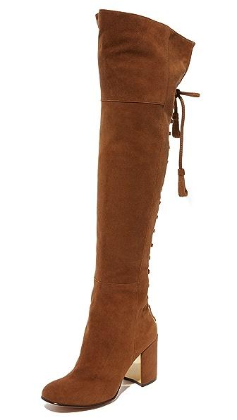 Rachel Zoe Twilight Over The Knee Boots - Sepia