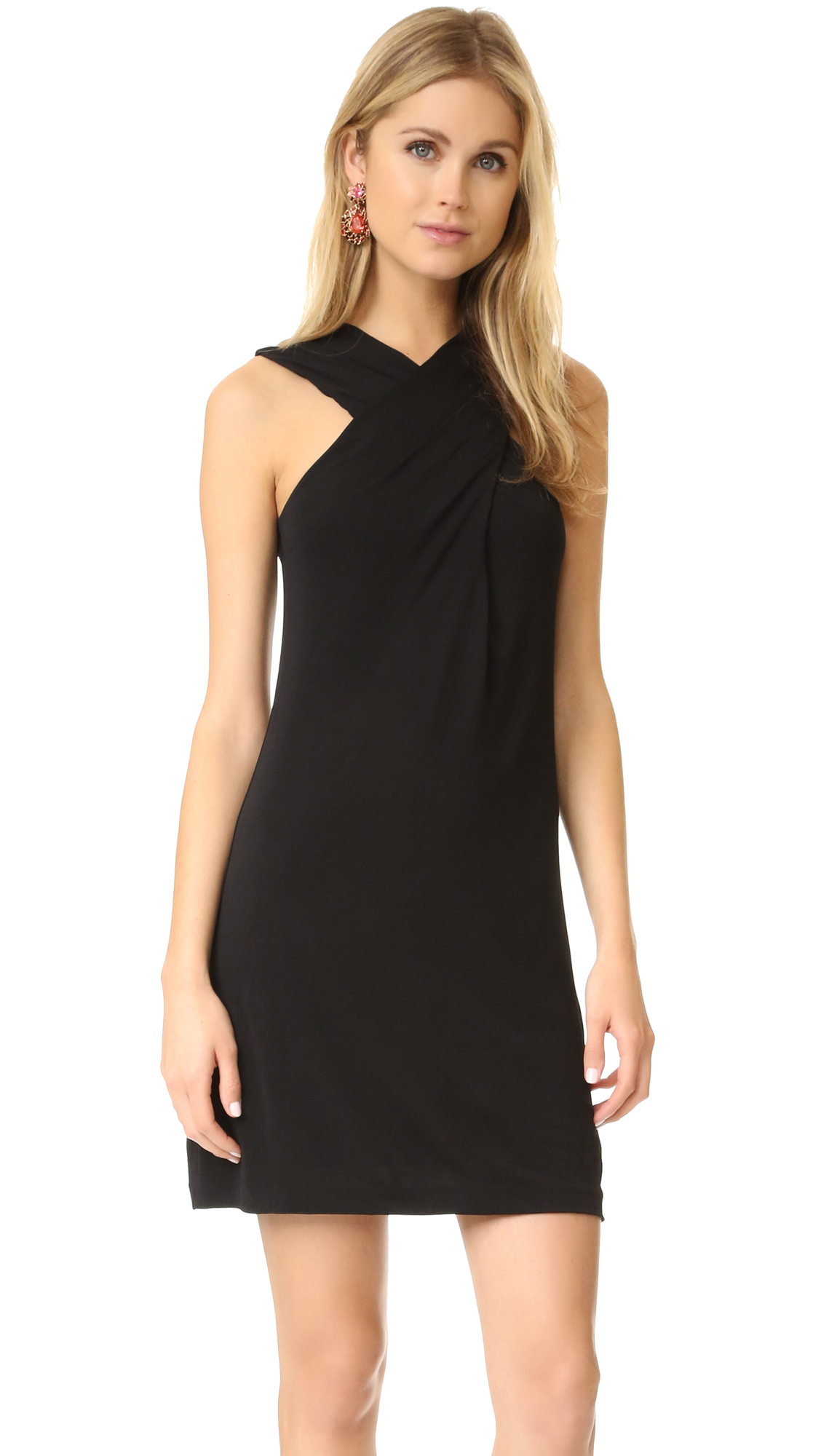 Rachel Zoe Crisscross Dress - Black