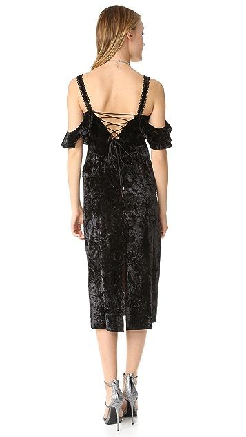 Rachel Zoe Kinsley Velvet Dress