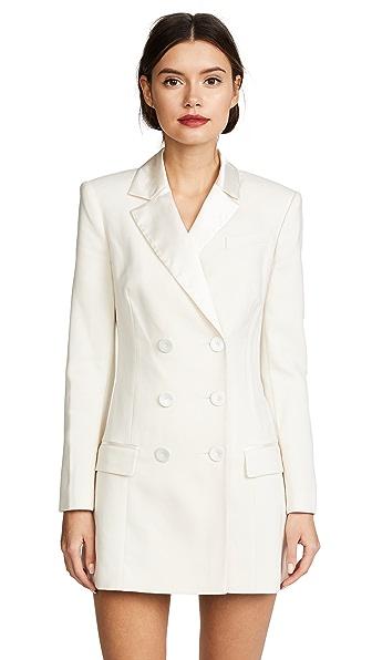 Rachel Zoe Tuxedo Dress In Ivory