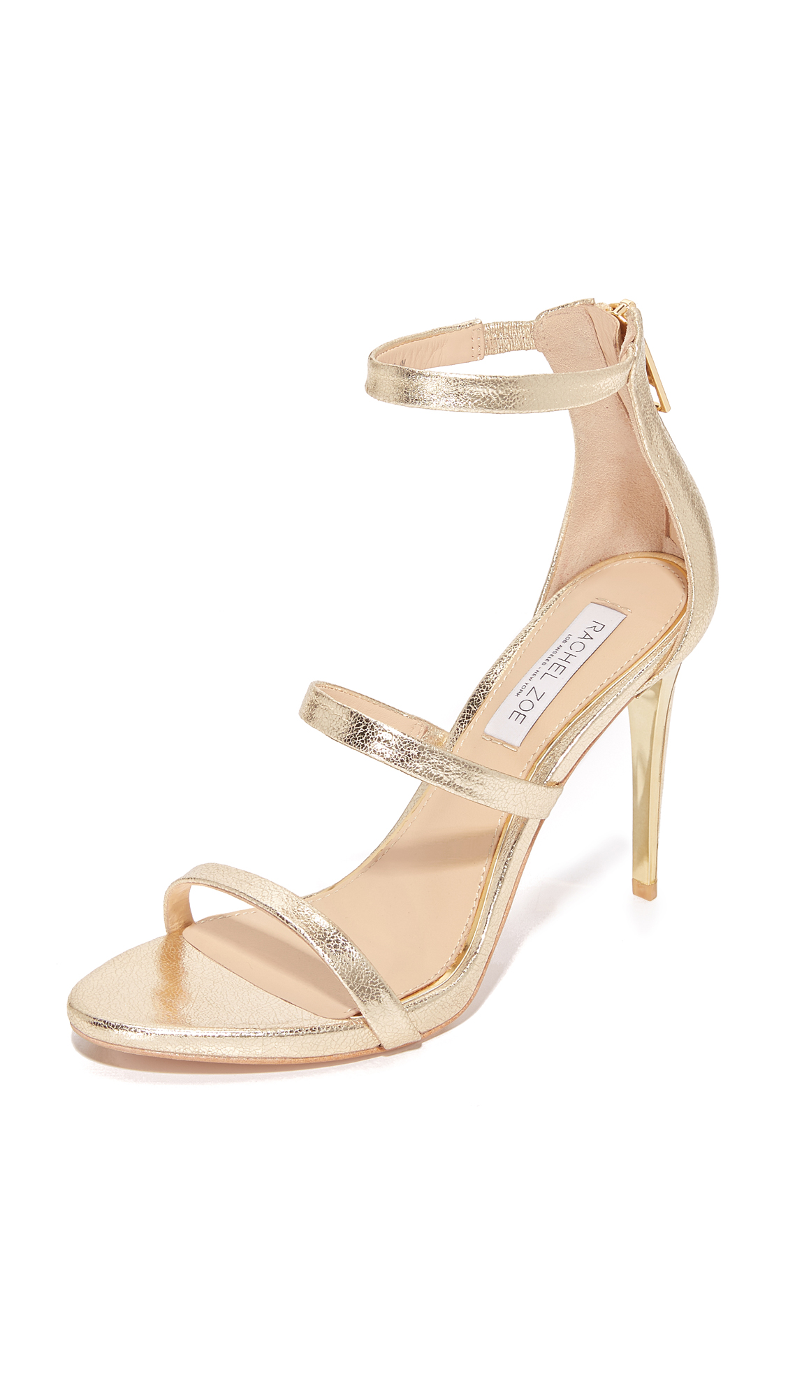 rachel zoe female rachel zoe viv sandals light gold