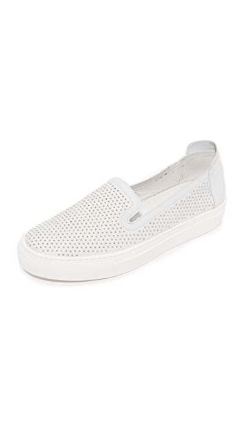 Rachel Zoe Burke Studded Slip On Sneakers