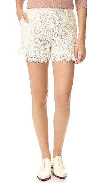 Rachel Zoe Lace Shorts
