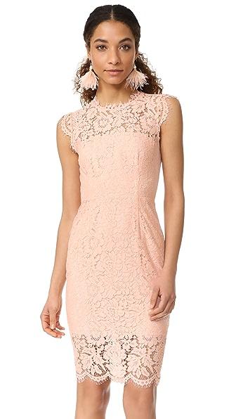 Rachel Zoe Suzette Lace Dress - Blush