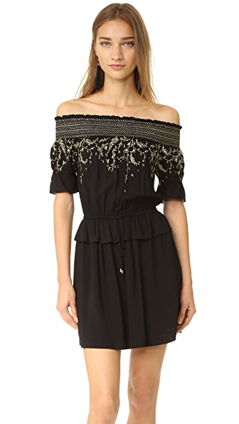 Rachel Zoe Платье Bethany с открытыми плечами
