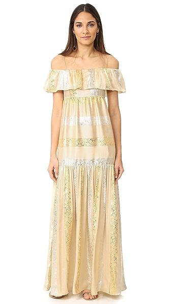 Rachel Zoe Raney Dress - Gold/Silver