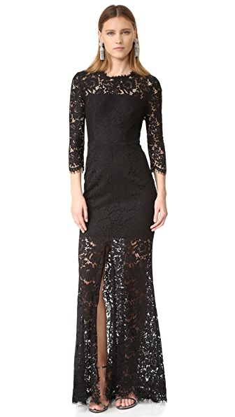 Rachel Zoe Carolyn Gown - Black