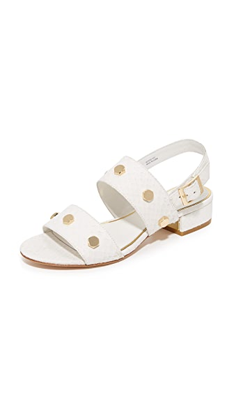 Rachel Zoe Florence City Sandals - White