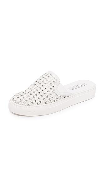 Rachel Zoe Bracker Slide Sneakers - White