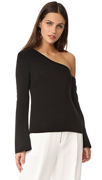 Rachel Zoe Mia One Shoulder Blouse