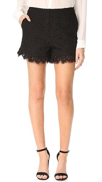Rachel Zoe Brit Shorts - Black