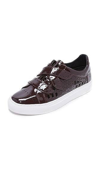 Rachel Zoe Jaden Sneakers - Oxblood